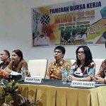 Bupati Vonnie Panambunan Buka 'Minut Job Fair 2018'