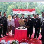 Polres Sangihe Gelar HUT Bhayangkara Ke-72 di Sitaro