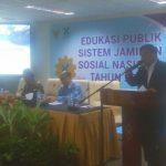 DJSN Edukasi Sistem Jaminan Sosial Nasional ke Publik Kota Bitung