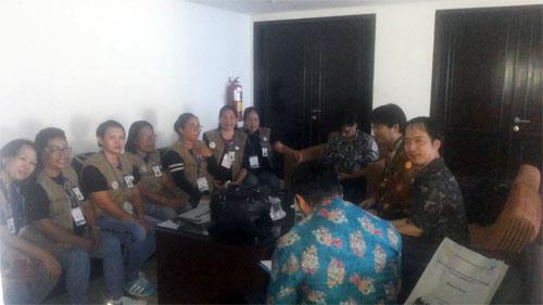Pertemuan antara JICA dan Kader JKN BPJS Kesehatan Manado di Hotel Sutanraja, Minut, Kamis (19/7/2018).