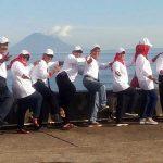Peserta Harganas Nikmati Tinutuan dan Swafoto Gunung Manado Tua