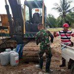 Lalui Medan Berat, BBM Alat Berat Berhasil Didrop ke Lokasi TMMD