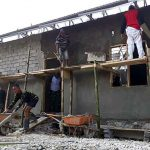 Gotong Royong TNI-Polri dan Warga, Kantor Bersama 3 Pilar Segera Rampung