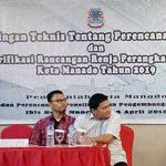 Pemkot Manado Gelar Bimtek Perencanaan Daerah
