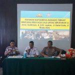 Dipaparkan Langsung Kapolres Manado, Rapat Rencana Perubahan Lalin di Kantor Dishub