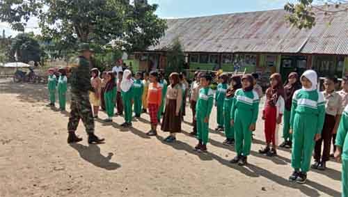 Tim SDN 23 Pangea bakal tampil spesial di Upacara HUT ke-73 Republik Indonesia.