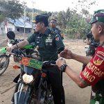 Ke Lokasi TMMD, Irjenad Tobing Gunakan Motor Babinsa Hingga Disambut Anggota Polres Boalemo