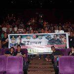 """Nobar Film """"22 MENIT"""", Polres Minsel dan Ratusan Awak Media Padati Cinema XXI Mega Mall"""
