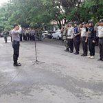 Polres Minsel Kawal Rapat Pleno Pilkada, Penjagaan Kantor KPUD Mitra Diperketat