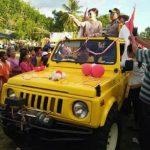 Pawai Pembangunan Meriahkan Perayaan HUT RI Ke-73 di Minsel