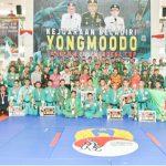 Kontingen Kostrad A Juara Umum Kejuaraan Yongmoodo Pangdam XIII/Merdeka Cup