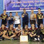 Bright Elektrik PLN Champion Kejuaraan Bola Voli PORKOT Manado 2018