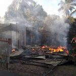 Lupa Matikan Kompor Gas, Dua Rumah Di Desa Mopolo  Hangus Terbakar