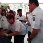 27286 Anak Jadi Sasaran Imunisasi MR Di Sangihe Dimulai