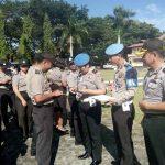 Sipropam Polres Minsel Gelar Ops Gaktibplin, 2 Polisi Tak Bawa KTP