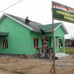 Gedung 3 Pilar Tuntas 4 Hari Sebelum Penutupan TMMD
