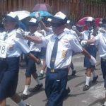 Lomba Gerak Jalan Di Kecamatan Suluun Tareran Meriahkan HUT RI ke-73