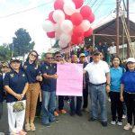 Sambut HUT RI ke-73, Kecamatan Kauditan Gelar Jalan Sehat