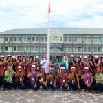 Ikut Program Siswa Mengenal Nusantara, 24 Siswa Lampung Belajar di Korem 133/Nani Wartabone