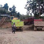 Satgas TMMD Tempuh Jarak 40 Km Angkut Material