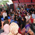 Ditemui Jokowi, Korban Gempa Lombok Utara Minta Biaya Perbaikan Rumah