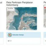 Tsunami Menerjang Palu Seusai Gempa