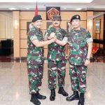 Panglima TNI Resmi Kukuhkan Kapuspen Brigjen TNI Santos Gunawan Matondang