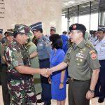 57 Perwira Tinggi TNI Naik Pangkat