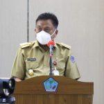 Pesan Gubernur Olly Dondokambey pada Apel Kerja Perdana Pemprov Sulut, Terus Ingatkan 3M