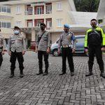 82 Personel Polres Tomohon Amankan Penetapan Wali Kota-Wakil Wali Kota Terpilih