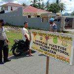 Operasi Yustisi, Polres Minsel Jaring Sejumlah Warga Yang Tak Disiplin Prokes