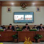 Dalam Rangka HUT Minsel Ke-18, DPRD Minsel Gelar Rapat Paripurna