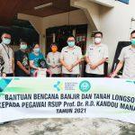 Sepenanggungan Keluarga Besar RSUP Kandou, Dirut Panelewen Antar Langsung Bantuan