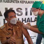 Terima Suntikan Vaksin Covid 19 Pertama Di Sangihe, Gaghana Sebut Aman Untuk Masyarakat