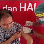 Pelaksanaan Launching Vaksinasi Covid-19 di Minsel Berjalan Lancar