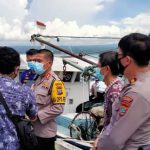 Kapolres Minsel Pimpin Langsung Patroli Wilayah Perairan Teluk Amurang