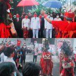 Wali Kota Senduk dan Wawali Lumentut Didoakan Ritual Budaya Tombulu